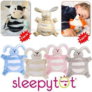 Sleepytot Baby Comforter & Dummy Holder Toddler Soft Cuddly Toy Child Sleep Aid