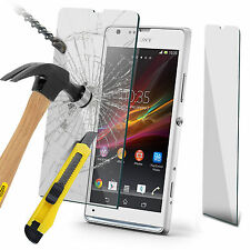 100% Tough Tempered Glass Film Screen Protector for Sony Xperia SP