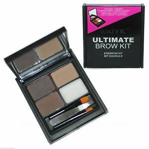 Technic Ultimate Brow Kit Eyebrow Powder Wax Brow Definer Brush