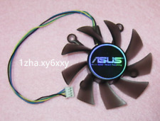 1X For 75mm ASUS GTX560 HD5830 HD6850 Fan Replacement 4x43mm 4Pin R128015SU 12V