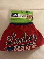 TOP PAW WASHABLE MALE COVER-UP - SIZE LARGE - LADIES MAN