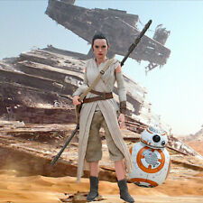 """1/6 Star Wars Backdrop 15""""x15"""" - For Hot Toys REY & BB-8 MMS 337"""