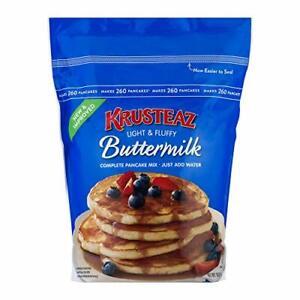 Krusteaz Buttermilk Complete Pancake Mix Just Add Water 4.53kg Reusable Pouch