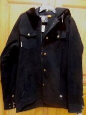 NWT  $169.95 RIDE WELLINGFORD AQUAPEL MENS SNOWBOARD JACKET - BLACK - SIZE: MED