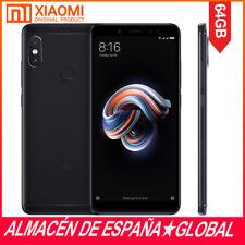XIAOMI REDMI NOTE 5 5'99 FHD SNAPDRAGON 636 4GB+64GB 12MP 4G Smartphone Negro