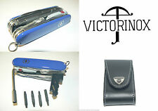 New Victorinox Swiss Army Knife COBALT CYBERTOOL LITE  & Sheath  1.7925.2L