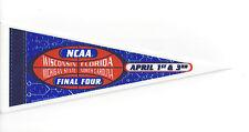 "2000 Final Four pennant 9"" Michigan State Wisconsin Florida North Carolina"