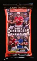 2019 Panini Football ContendersValue Pack/Emerald Parallels!