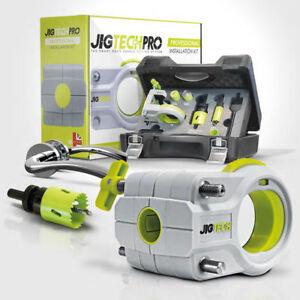 Jigtech Pro Installation Kit Smart Door Handle Fitting System | Vat Receipt