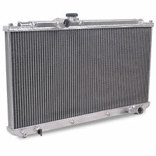 42mm TWIN CORE ALUMINIUM ALLOY RACE RADIATOR RAD FOR LEXUS IS200 99-05 GXE10 2.0