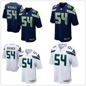 Herren NFL Bobby Wagner #54 Seattle Seahawks American Fußball Trikot Stitched