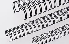 More details for renz premium quality 3:1 pitch a4 34 loop binding wires,  wire combes