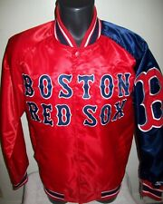 BOSTON RED SOX MLB STARTER Snap Down Jacket Sping/Summer RED/BLUE