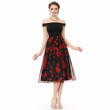 Prom Boat Neck Regular Size Dresses for Women