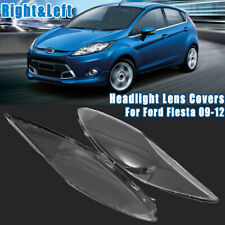 Front Headlight Headlamp Clear Lens Cover For Ford Fiesta 2009-2012 2010 2011