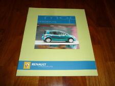 Renault Modus folleto 05/2005 España