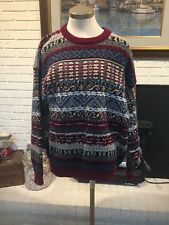 Vintage Men's Woolen Knit Sweater