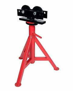 "Toledo Pipe 56667 1/8""-12"" Roller High Head Pipe Stand 25""-43"" fit RIDGID® RJ-98"