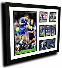 EDEN HAZARD CHELSEA FC SIGNED LIMITED EDITION FRAMED MEMORABILIA