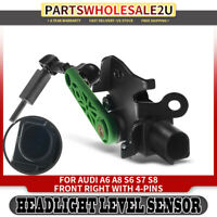 Headlight Level Height Sensor Front Right RH for Audi A6 A8 S6 S7 S8 4H0941286G