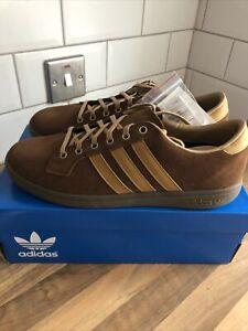 Adidas Originals Bulhill SPZL Brown UK9 Deadstock RARE 80s Classic