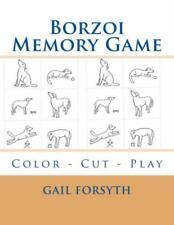 Borzoi Memory Game: Color - Cut - Play
