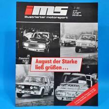 DDR Illustrierter Motorsport IMS 3/1989 Honda CR Jawa TS 350 Pneumant Rallye E