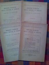 MEMORIE STORICHE DELLA DIOCESI DI BRESCIA - annata completa 1956  sotto i titoli
