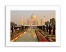 TAJ MAHAL MISTY MORNING (DAP) PHOTO Poster Picture Canvas art Prints