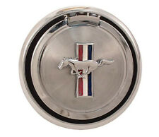 NEW! 1970 Ford Mustang Gas Cap Pop Open Pony Emblem Chrome Free Shipping!