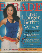 MICHELLE KWAN - PARADE Magazine (March 20, 2005) - SIGNED