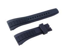 Uhrenarmband Kunsstoff 26 mm Schwarz für Seiko velatura SRH005P1 SNAE76P SPC074