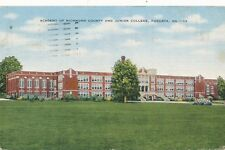 AUGUSTA GA – Academy of Richmond County and Junior College - 1956