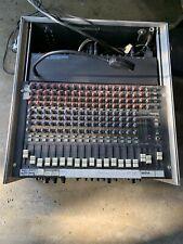 Mischpult MACKIE 16-CHANNEL Mixer, Alex Processor, 3 Autocom Processor, MGM Rack