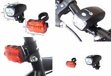 1Watt LED Fahrradbeleuchtung Fahrradlicht Fahrradlampe Fahrrad Lampenset Clamaro