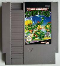 NES - Teenage Mutant Hero Turtles (PAL-B) cart Nintendo FRA