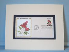 State Bird & Flower - West Virginia - Cardinal & Rhododendron & First Day Cover