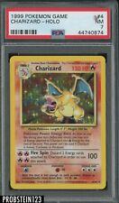 1999 Pokemon Game #4 Charizard Holo PSA 7 NM
