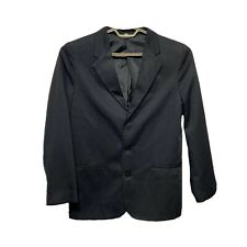 City Streets Boys 20 Slim Blazer Sport Coat Suit Jacket Black