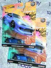 Pandem Subaru Brz 2x ☆☆ Car Culture Street Tuners ☆☆ 2019 Hot Wheels ☆☆