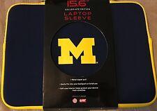 "Michigan Wolverines 15.6""  Laptop Sleeve  Neoprene Soft Case"