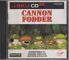 Cannon Fodder (Amiga CD32, 1994, Sensible Software)