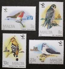 25th anniversary of Malta ornithological society stamps 1987 Malta, Ref: 799 MNH