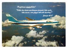 EL AL  Airlines Boeing 747 Postcard 1982