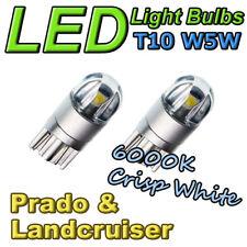 #T14 Prado 90 120 150 Landcruiser 100 200 Number Plate Light LED Bulbs White T10