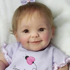 ASHTON DRAKE So Truly Real LITTLE LOVE BUG Lifelike Baby Doll NEW