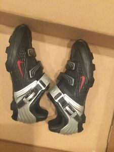 Nike Lance All-Road Men's 11 Black/Silver Cycling Shoes 90653