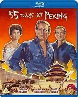 55 DAYS AT PEKING (BLURAY) [DVD][Region 2]