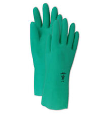 Mapa MF18 18 Mil Flock-Lined Z Pattern Nitrile Gloves Size 10, 12 Pair