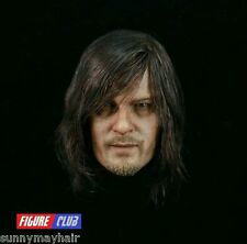 Figure Club 1/6th The Walking Dead Daryl Dixon Male Head Model NEW In Stock